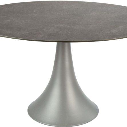 SILVERSTAR Table Ben Ø134cm taupe/ferro