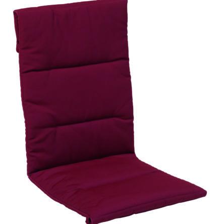 CALIFORNIA Coussin pour fauteuil multipositions col. bordeaux
