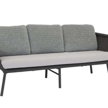 EMBASSY Sofa 3 places anthracite