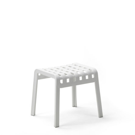 Table basse/repose pieds Folio blanc