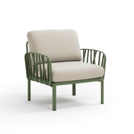KOMODO Lounge Sessel agave/TECH panama