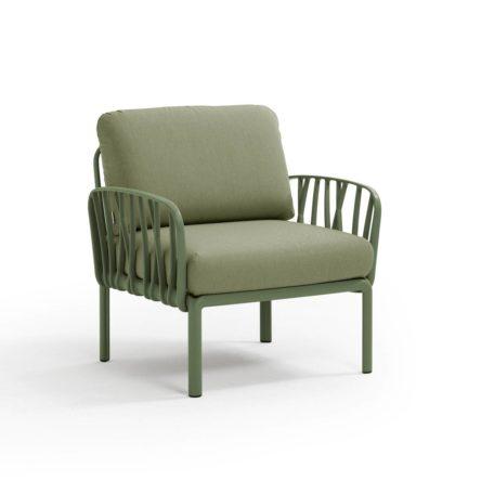 KOMODO Lounge Sessel agave/dschungelgrün